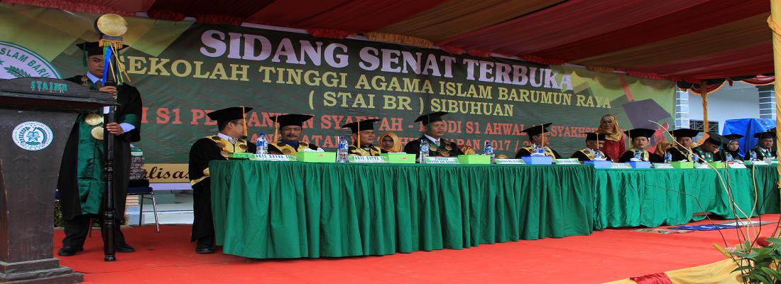 Sidang Senat Terbuka di STAI Barumun Raya.